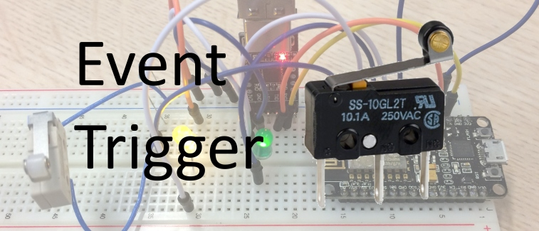 Triggered action on NodeMCU